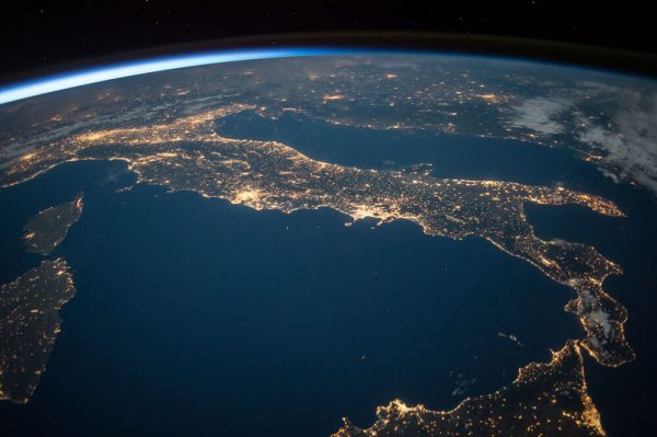 World from space
